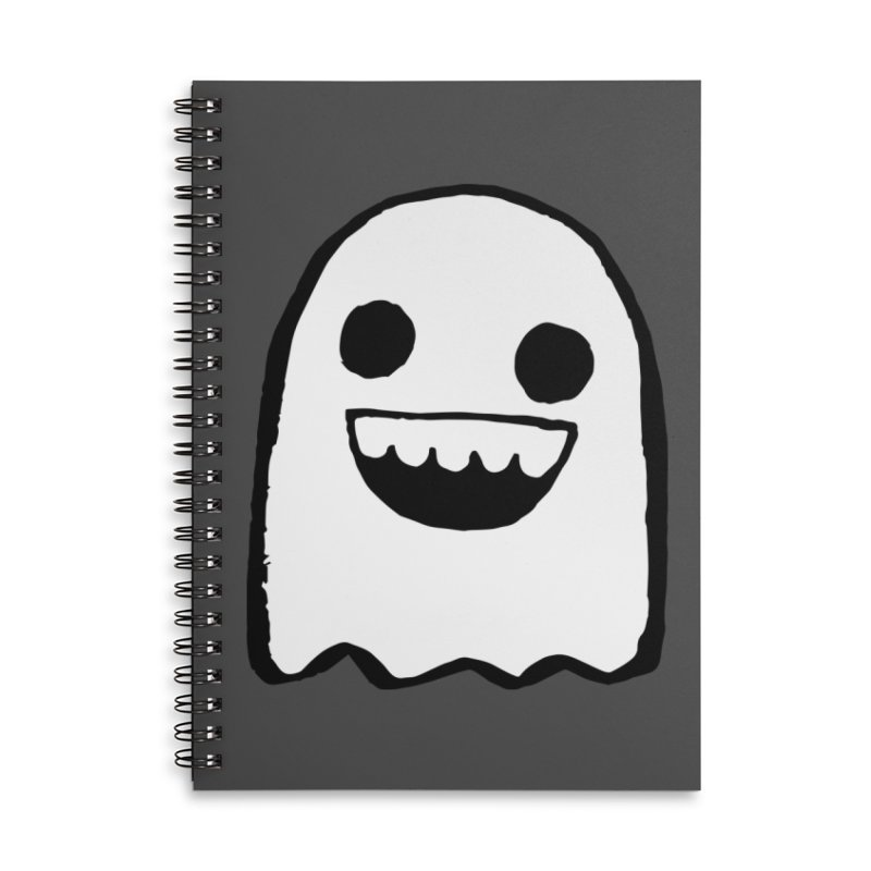 Nice Ghost Accessories Notebook by DRACULAD Shop