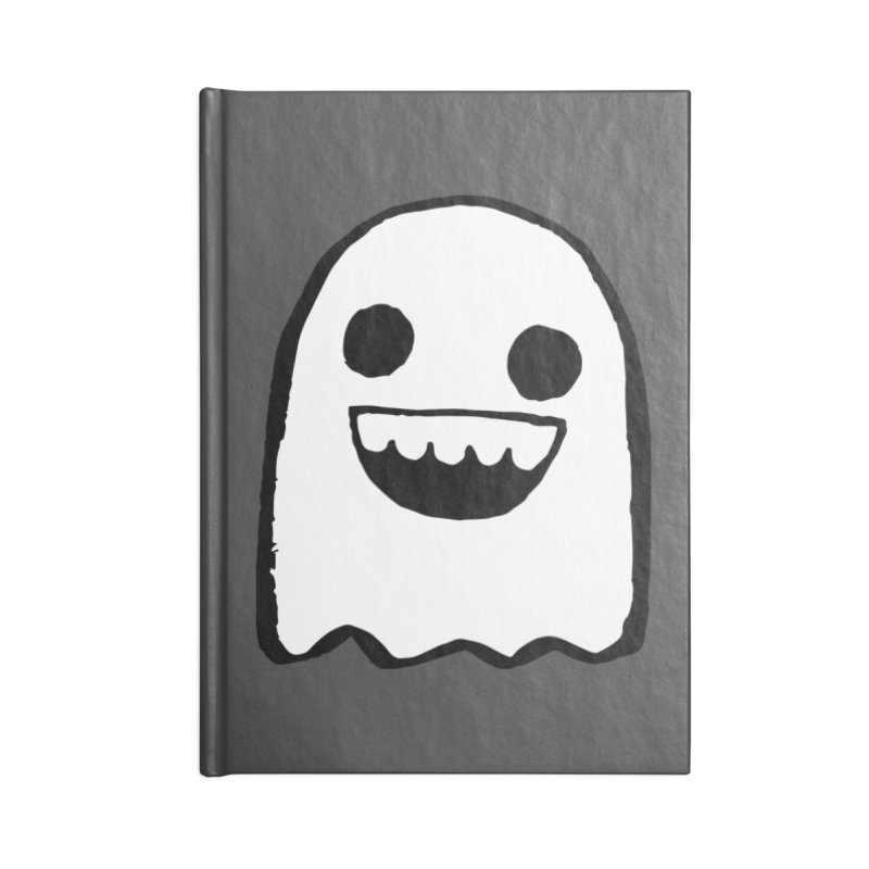 Nice Ghost Accessories Blank Journal Notebook by DRACULAD Shop