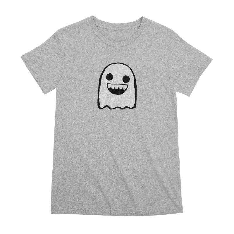 Nice Ghost Women's Premium T-Shirt by DRACULAD Shop