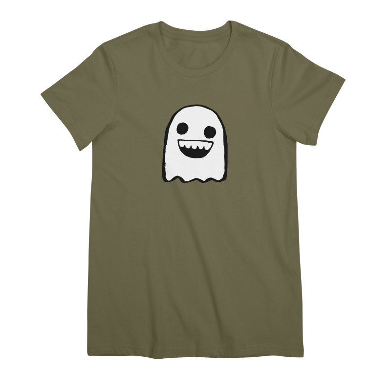 Nice Ghost Women's Premium T-Shirt by DRACULAD Shop