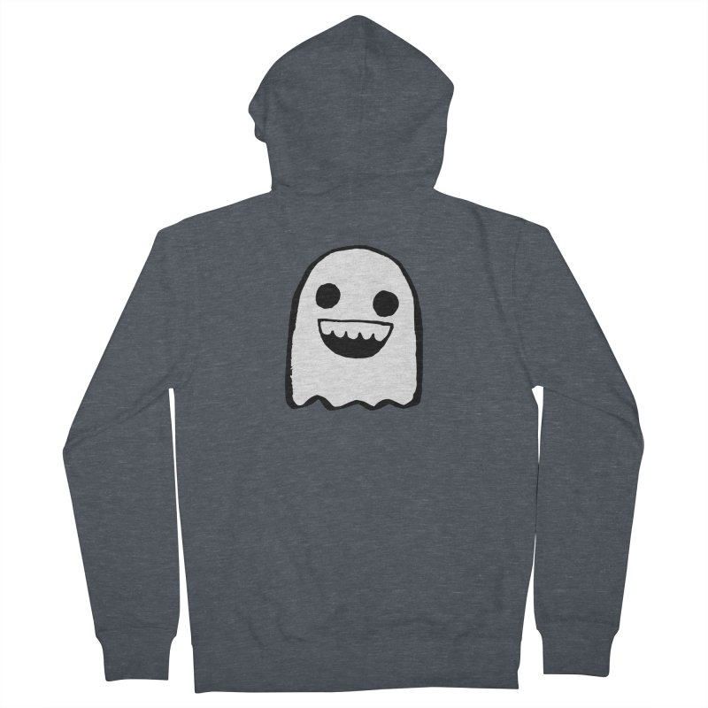 Nice Ghost Women's French Terry Zip-Up Hoody by DRACULAD Shop