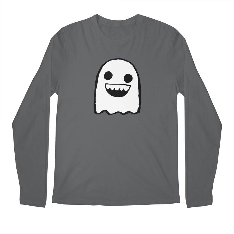 Nice Ghost Men's Regular Longsleeve T-Shirt by DRACULAD Shop