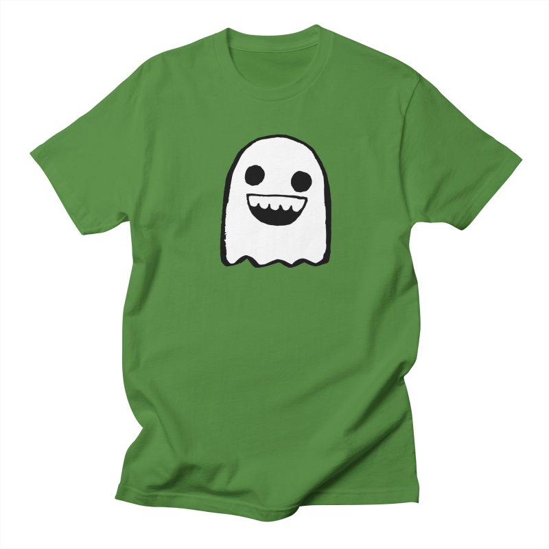 Nice Ghost Women's Regular Unisex T-Shirt by DRACULAD Shop