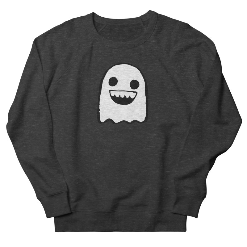 Nice Ghost Women's French Terry Sweatshirt by DRACULAD Shop