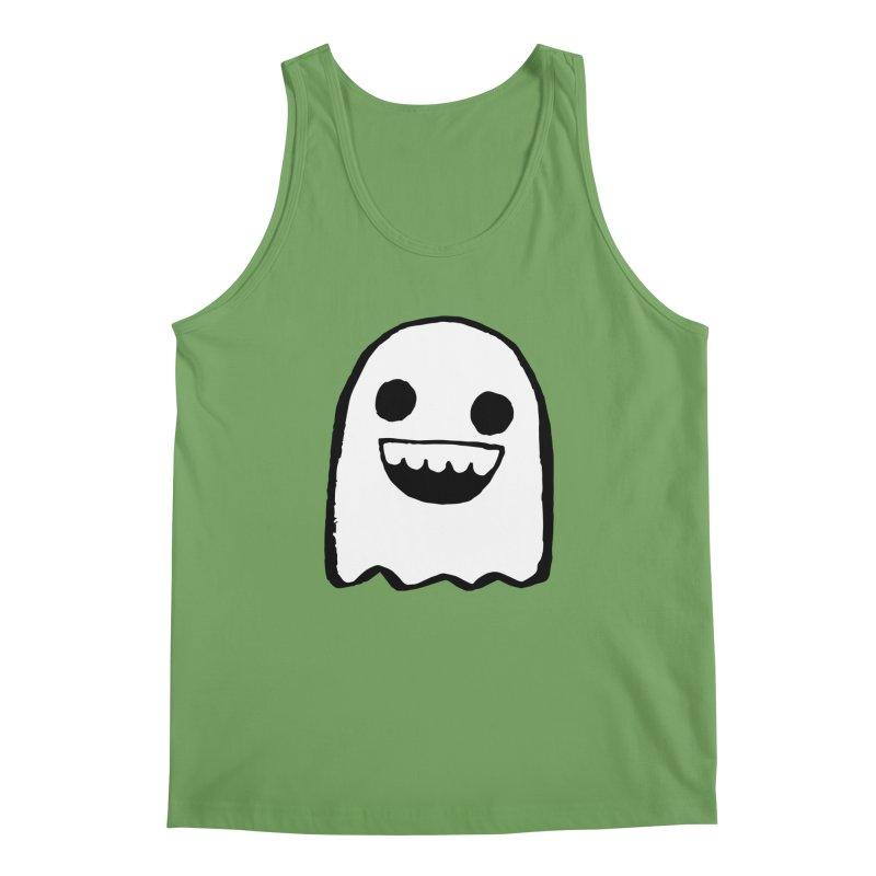 Nice Ghost Men's Tank by DRACULAD Shop