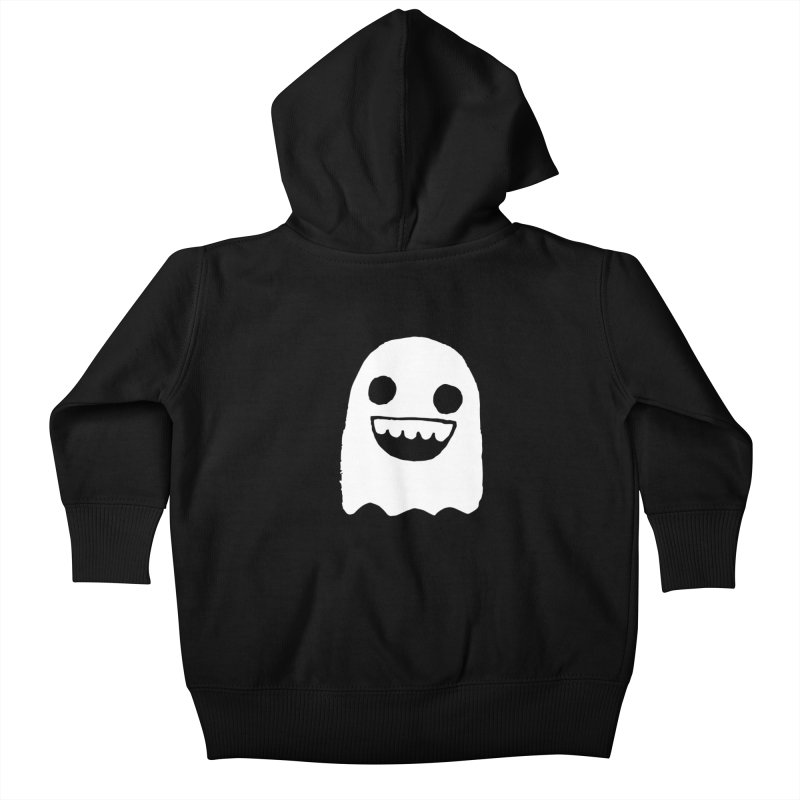 Nice Ghost Kids Baby Zip-Up Hoody by DRACULAD Shop