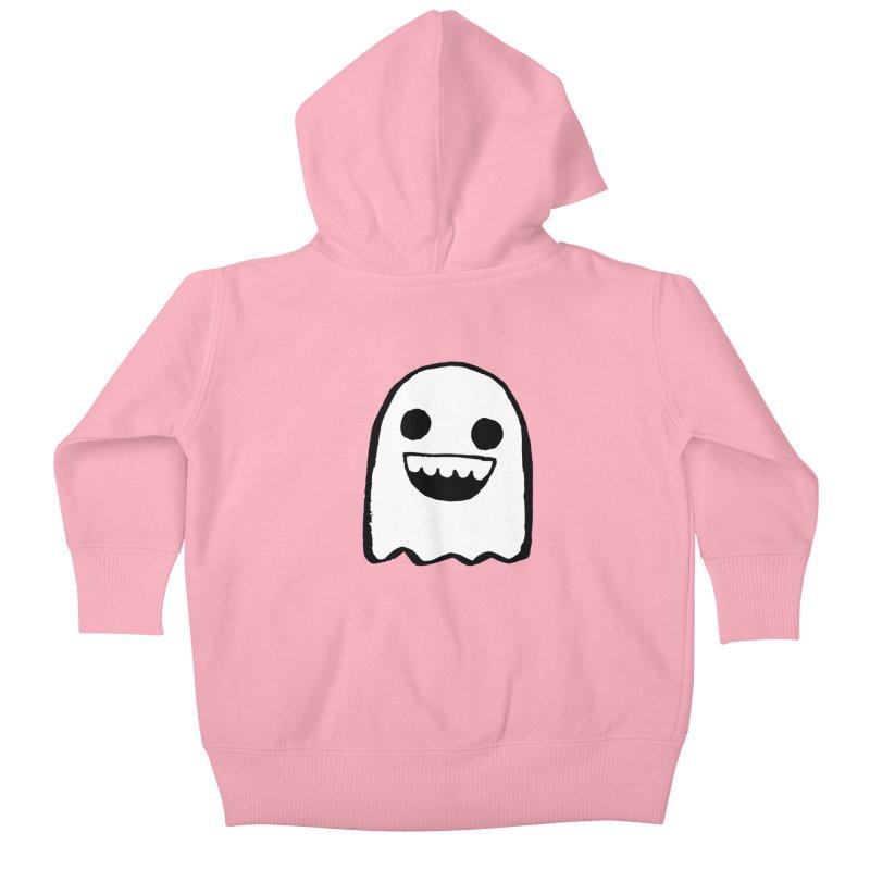 Nice Ghost Kids Baby Zip-Up Hoody by DRACULAD Shop