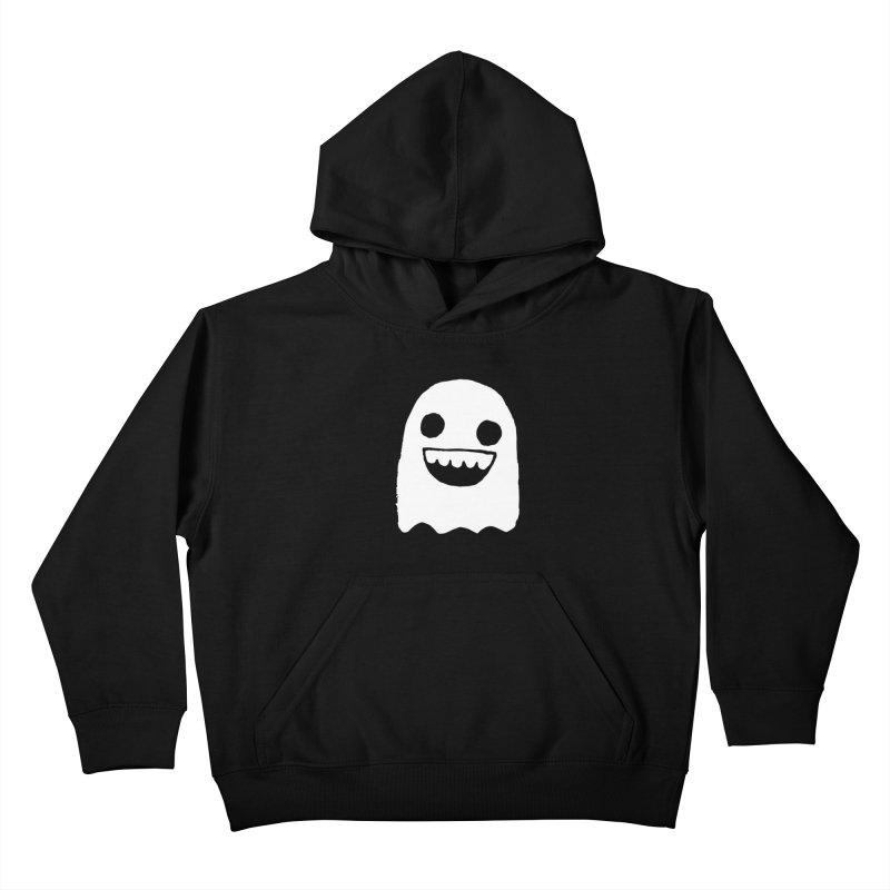 Nice Ghost Kids Pullover Hoody by DRACULAD Shop