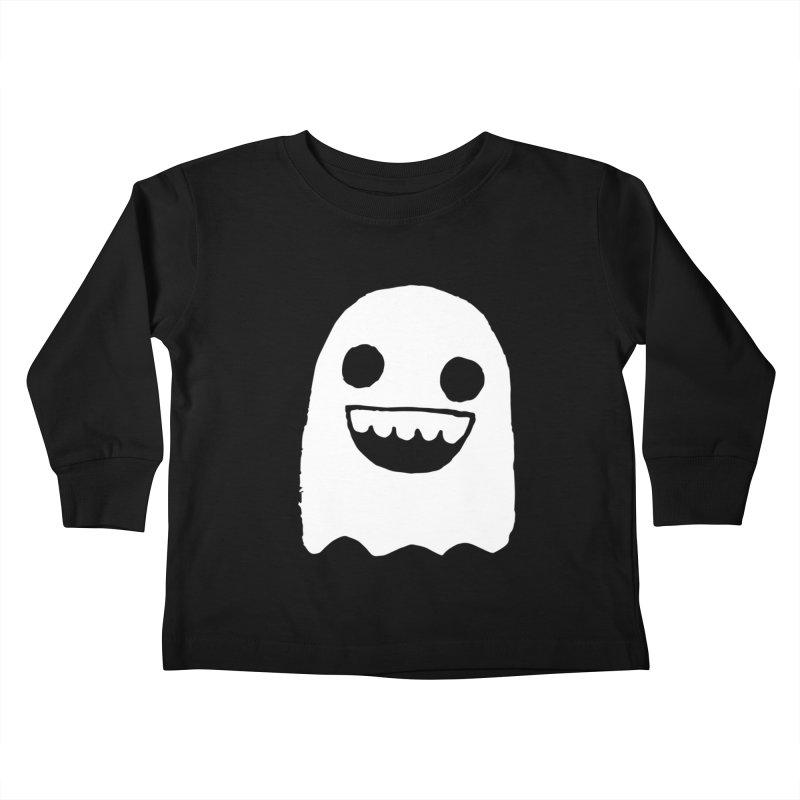 Nice Ghost Kids Toddler Longsleeve T-Shirt by DRACULAD Shop