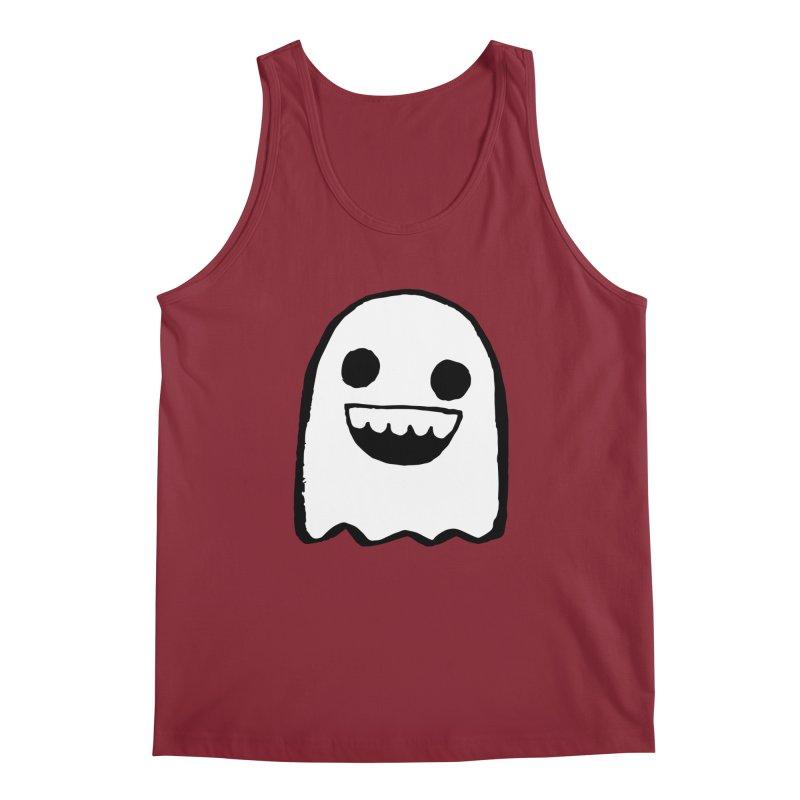 Nice Ghost Men's Regular Tank by DRACULAD Shop