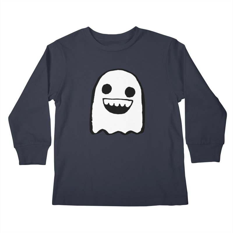 Nice Ghost Kids Longsleeve T-Shirt by DRACULAD Shop