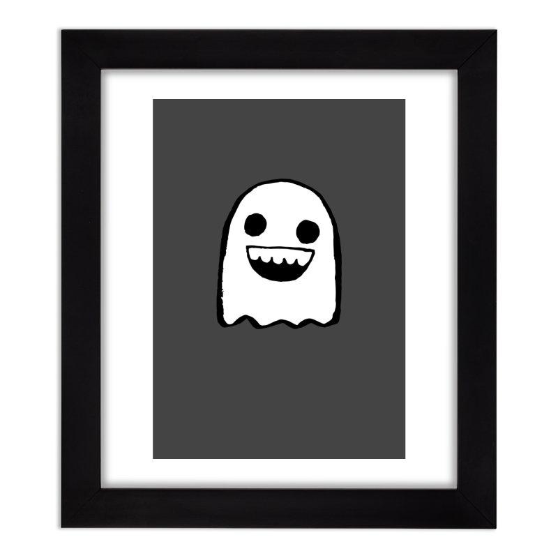 Nice Ghost Home Framed Fine Art Print by DRACULAD Shop