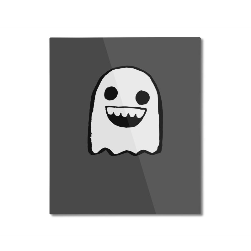 Nice Ghost Home Mounted Aluminum Print by DRACULAD Shop