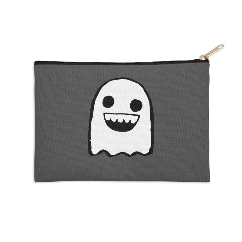 Nice Ghost Accessories Zip Pouch by DRACULAD Shop
