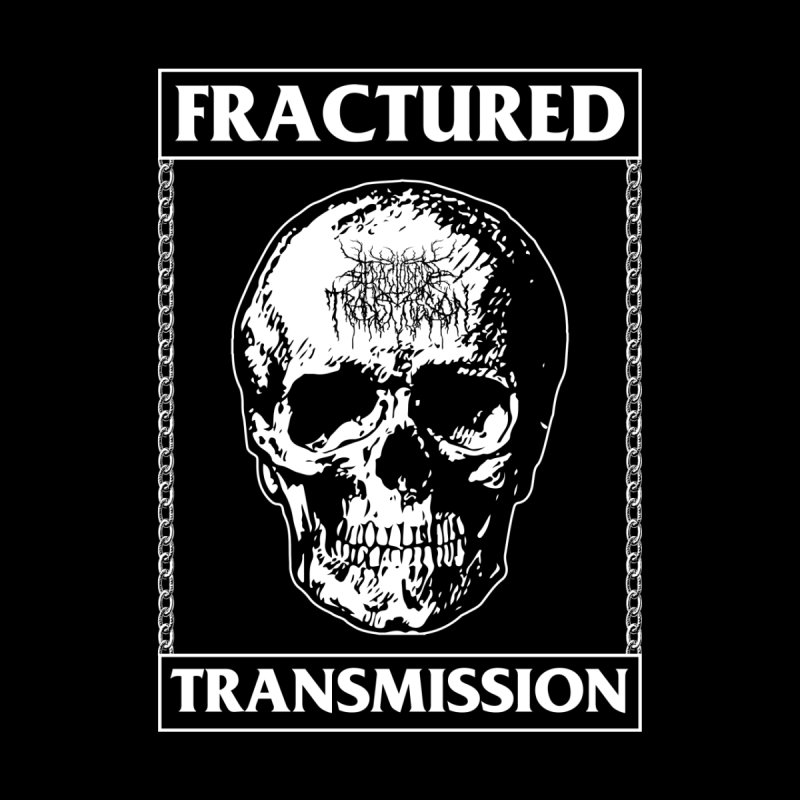 Fractured Transmission Skull & Chains Men's T-Shirt by DTHXCMP