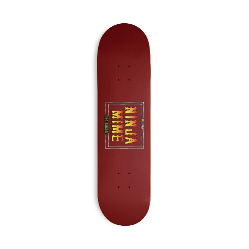 Ninja Mime Accessories Deck Only Skateboard by DVCustoms's Artist Shop