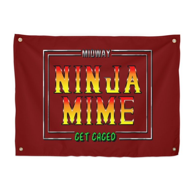 Ninja Mime Home Tapestry by DVCustoms's Artist Shop