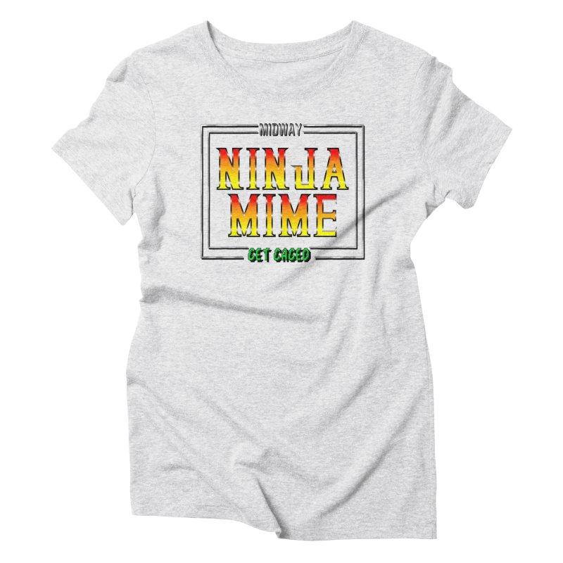 Ninja Mime Women's Triblend T-Shirt by DVCustoms's Artist Shop
