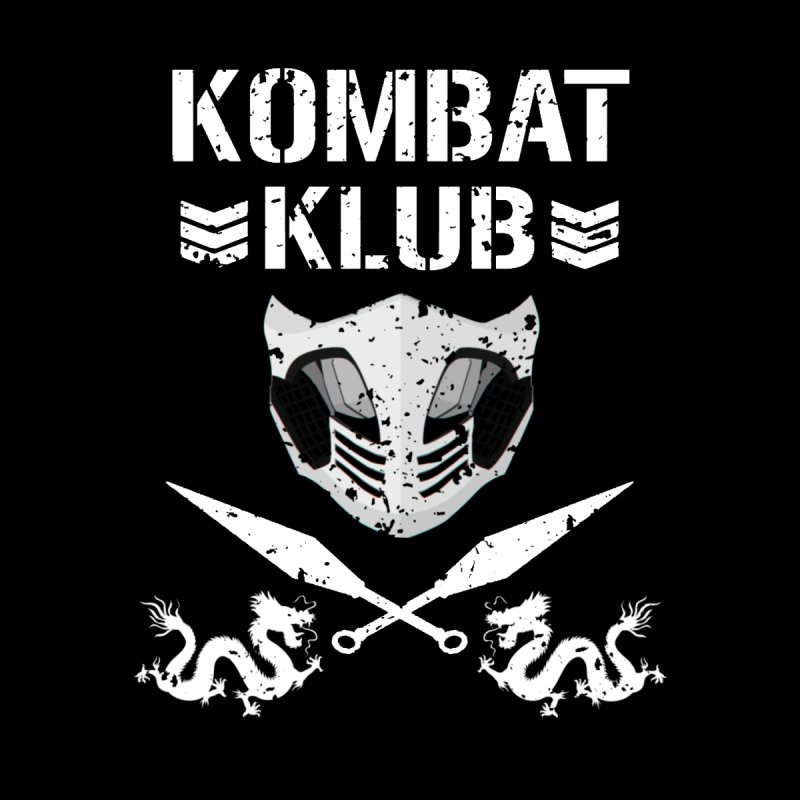 KOMBAT KLUB Men's T-Shirt by DVCustoms's Artist Shop