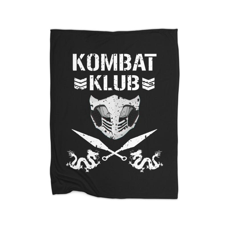 KOMBAT KLUB Home Fleece Blanket Blanket by DVCustoms's Artist Shop