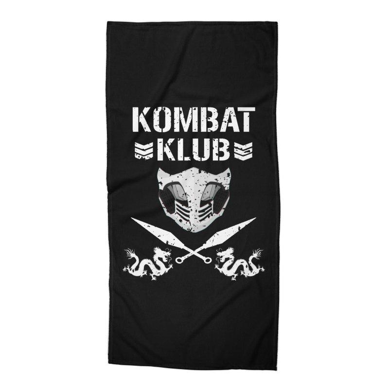 KOMBAT KLUB Accessories Beach Towel by DVCustoms's Artist Shop
