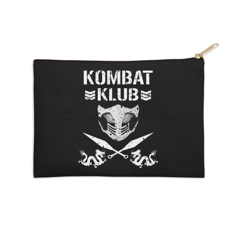 KOMBAT KLUB Accessories Zip Pouch by DVCustoms's Artist Shop