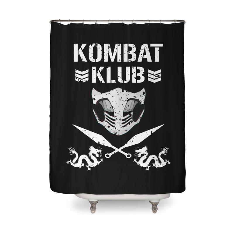 KOMBAT KLUB Home Shower Curtain by DVCustoms's Artist Shop