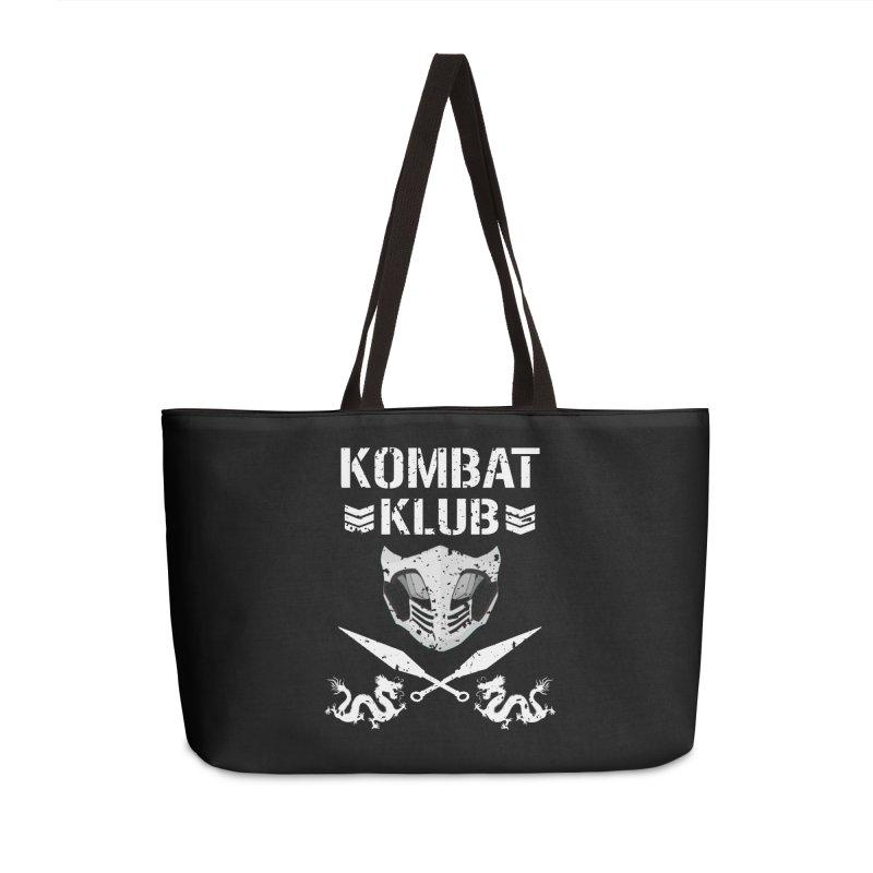 KOMBAT KLUB Accessories Weekender Bag Bag by DVCustoms's Artist Shop