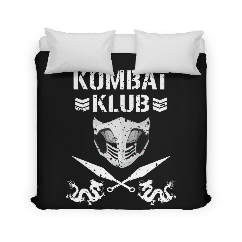 KOMBAT KLUB Home Duvet by DVCustoms's Artist Shop