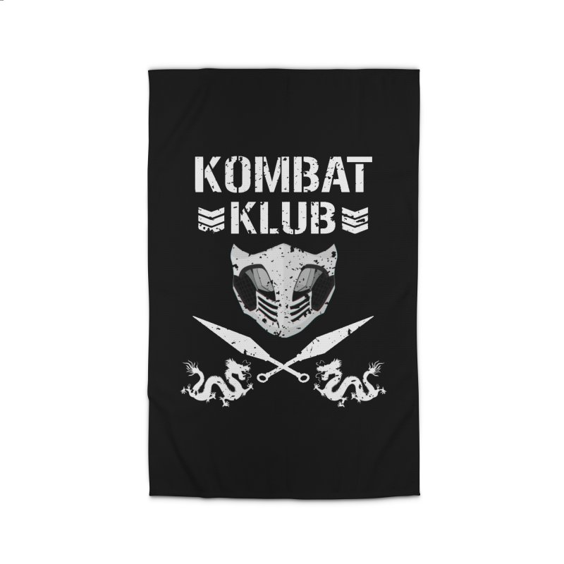KOMBAT KLUB Home Rug by DVCustoms's Artist Shop