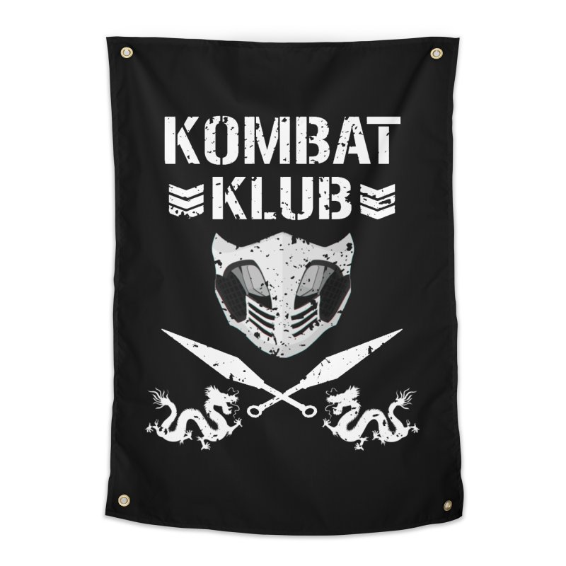 KOMBAT KLUB Home Tapestry by DVCustoms's Artist Shop