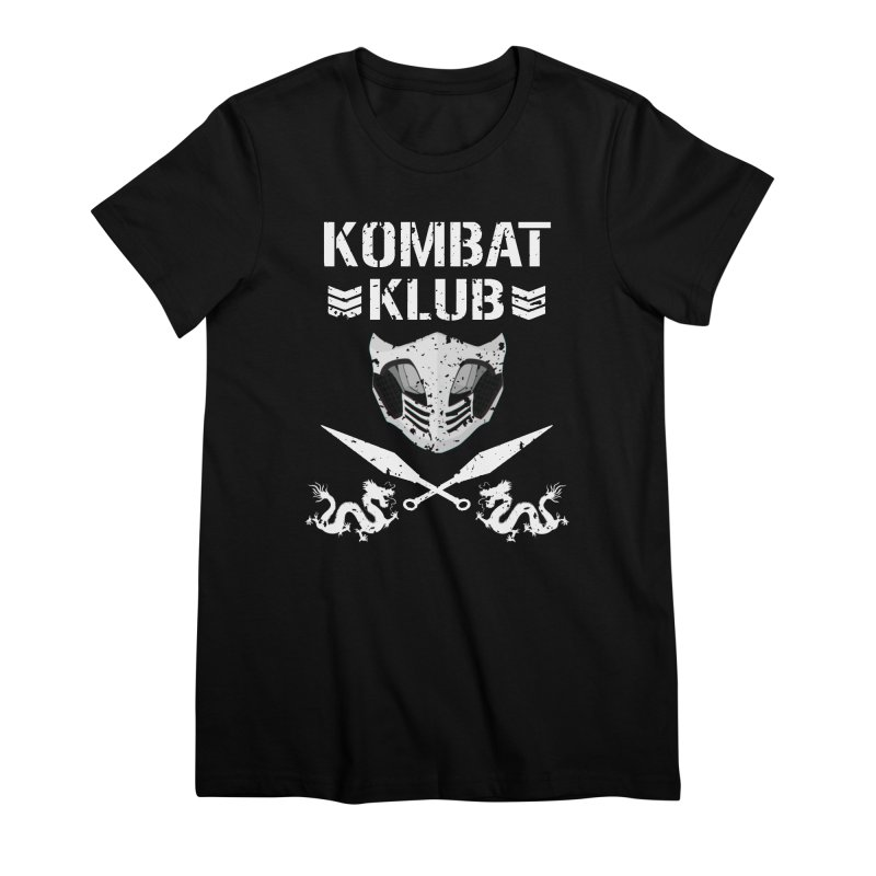 KOMBAT KLUB Women's Premium T-Shirt by DVCustoms's Artist Shop