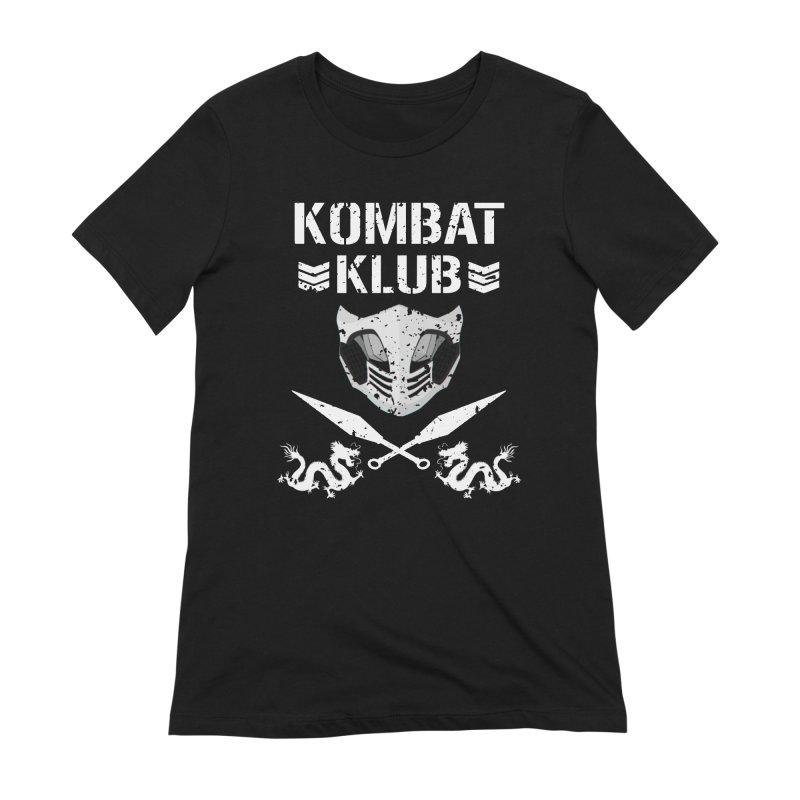 KOMBAT KLUB Women's Extra Soft T-Shirt by DVCustoms's Artist Shop