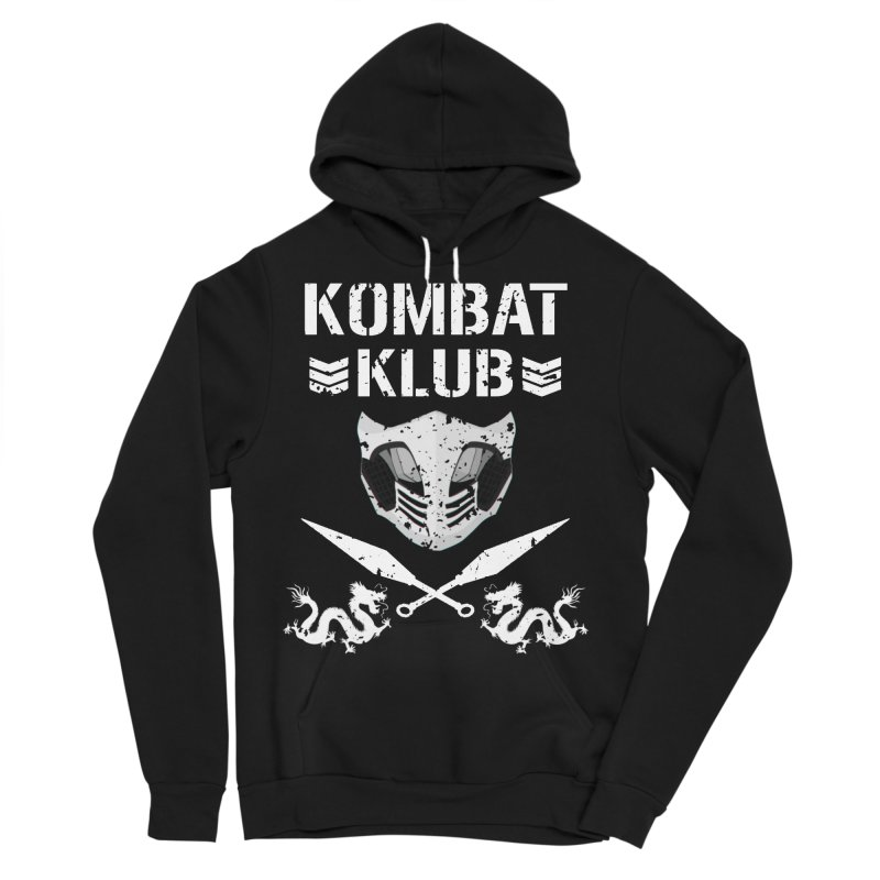 KOMBAT KLUB Men's Sponge Fleece Pullover Hoody by DVCustoms's Artist Shop