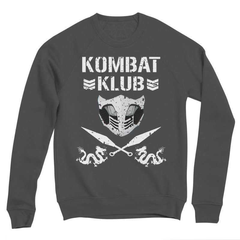 KOMBAT KLUB Men's Sponge Fleece Sweatshirt by DVCustoms's Artist Shop
