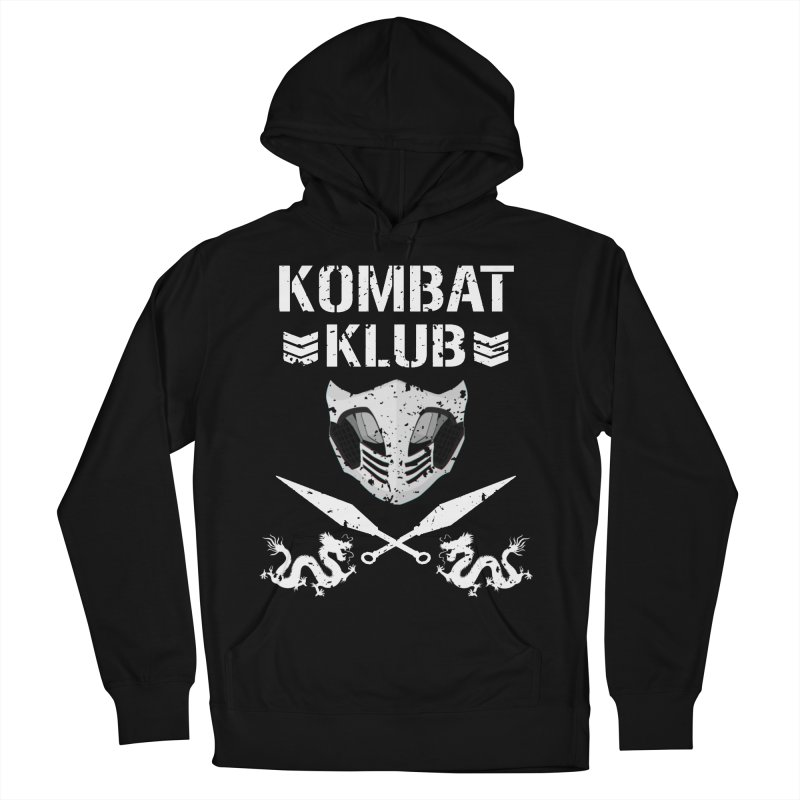 KOMBAT KLUB Women's French Terry Pullover Hoody by DVCustoms's Artist Shop