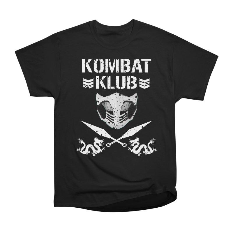 KOMBAT KLUB Women's Heavyweight Unisex T-Shirt by DVCustoms's Artist Shop