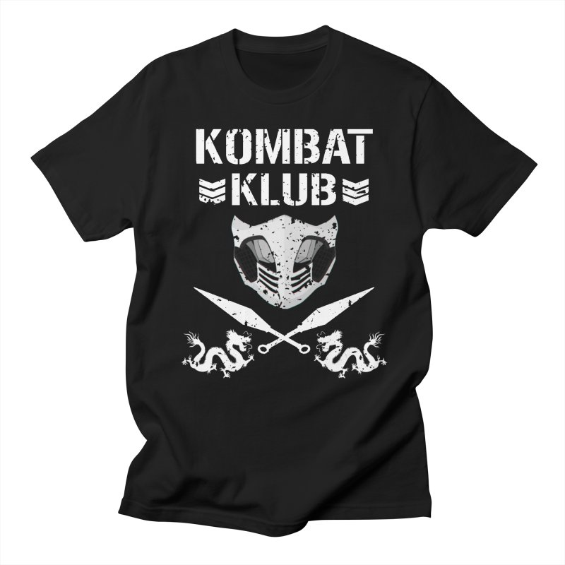 KOMBAT KLUB Women's Regular Unisex T-Shirt by DVCustoms's Artist Shop
