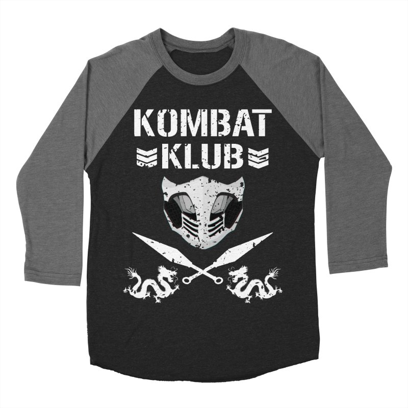 KOMBAT KLUB Men's Baseball Triblend Longsleeve T-Shirt by DVCustoms's Artist Shop