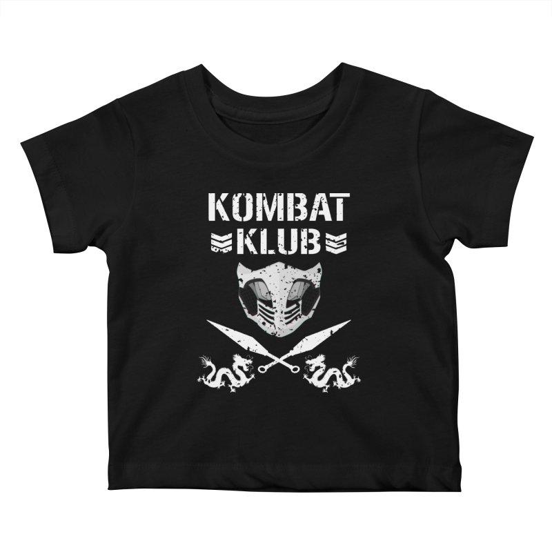 KOMBAT KLUB Kids Baby T-Shirt by DVCustoms's Artist Shop