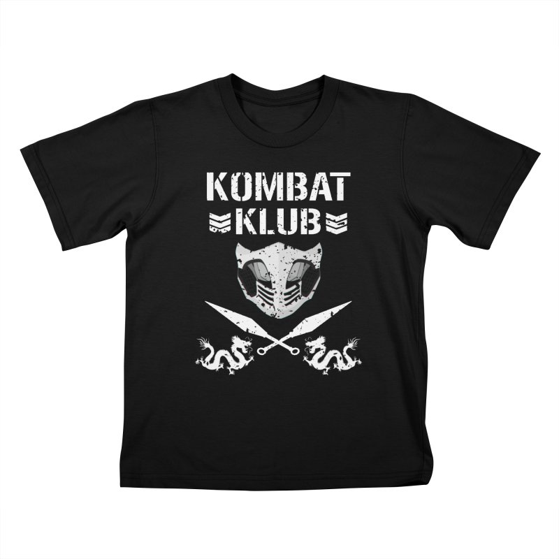 KOMBAT KLUB Kids T-Shirt by DVCustoms's Artist Shop