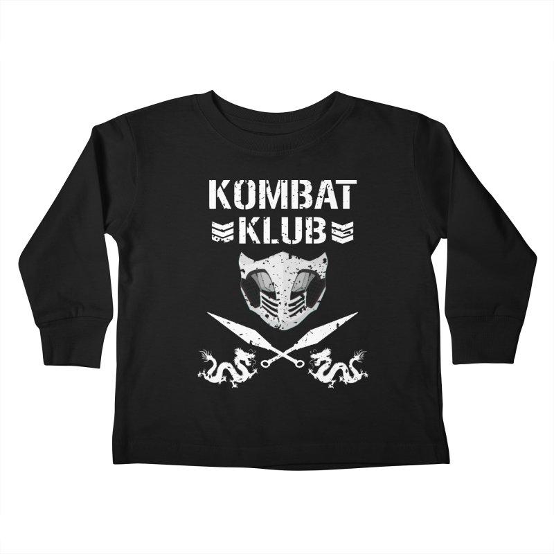 KOMBAT KLUB Kids Toddler Longsleeve T-Shirt by DVCustoms's Artist Shop