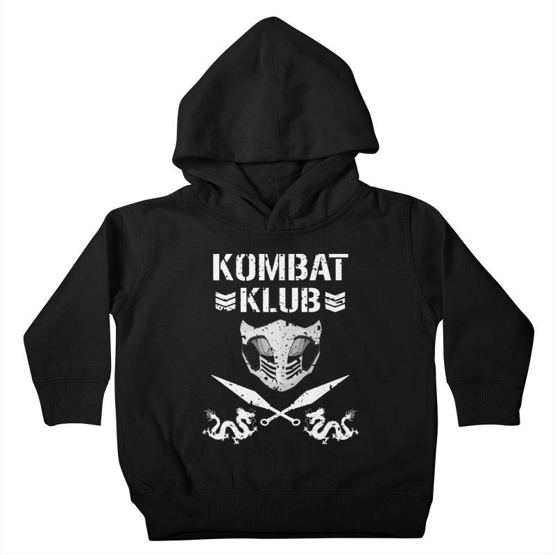 KOMBAT KLUB Kids Toddler Pullover Hoody by DVCustoms's Artist Shop
