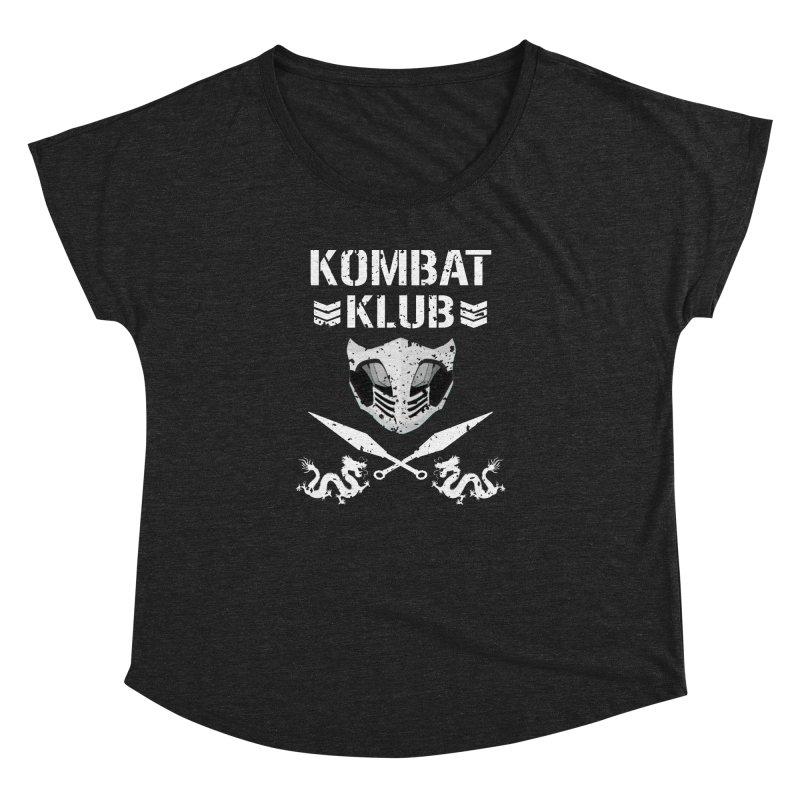 KOMBAT KLUB Women's Dolman Scoop Neck by DVCustoms's Artist Shop