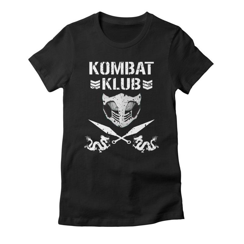 KOMBAT KLUB Women's Fitted T-Shirt by DVCustoms's Artist Shop