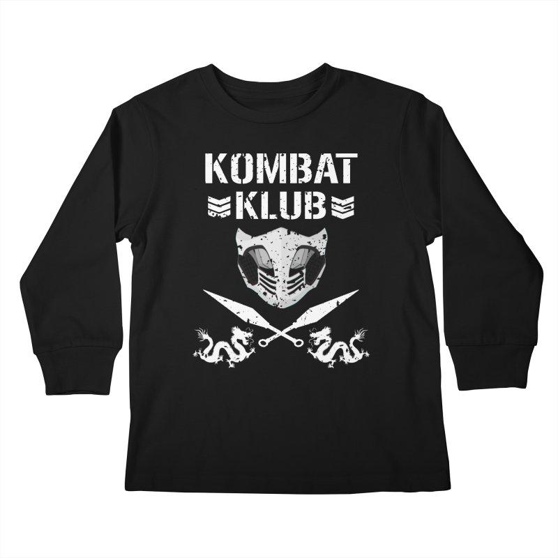 KOMBAT KLUB Kids Longsleeve T-Shirt by DVCustoms's Artist Shop