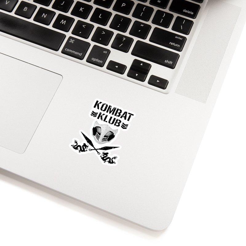 KOMBAT KLUB Accessories Sticker by DVCustoms's Artist Shop
