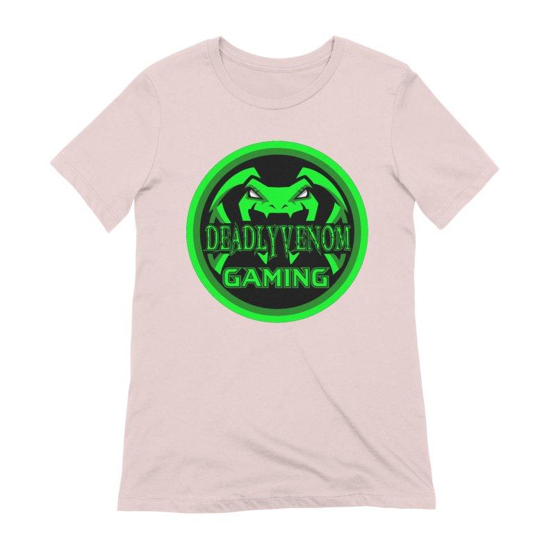 Deadly Venom Gaming Logo Women's Extra Soft T-Shirt by DVCustoms's Artist Shop