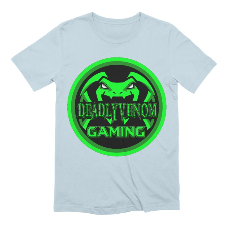 Deadly Venom Gaming Logo Men's Extra Soft T-Shirt by DVCustoms's Artist Shop