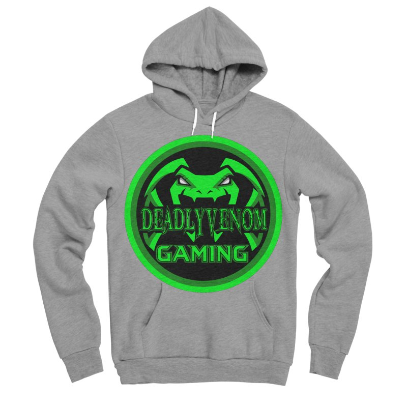 Deadly Venom Gaming Logo Men's Sponge Fleece Pullover Hoody by DVCustoms's Artist Shop